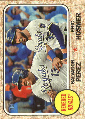 Photo of 2017 Topps Heritage Combo Cards #CC14 Eric Hosmer/Salvador Perez
