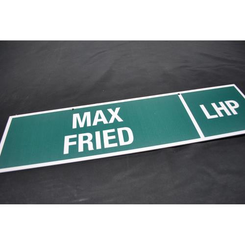 Photo of 2012 MLB Draft Nameplate - Max Fried