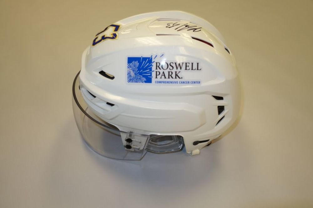 Jeff Skinner 2020-21 Autographed Game-Used Helmet