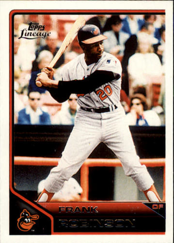 Photo of 2011 Topps Lineage #182 Frank Robinson