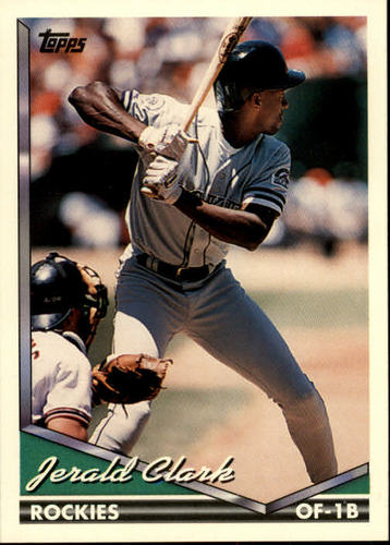 Photo of 1994 Topps #77 Jerald Clark