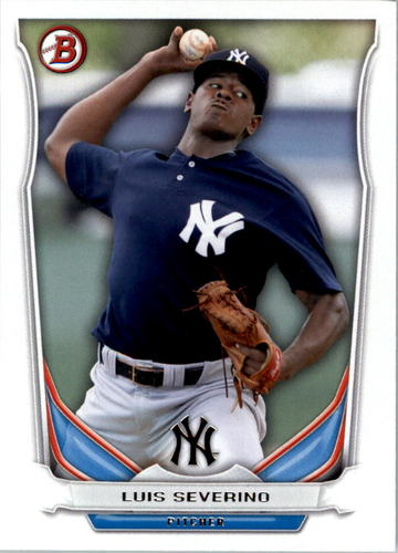Photo of 2014 Bowman Draft Top Prospects #TP38 Luis Severino Pre-Rookie Card