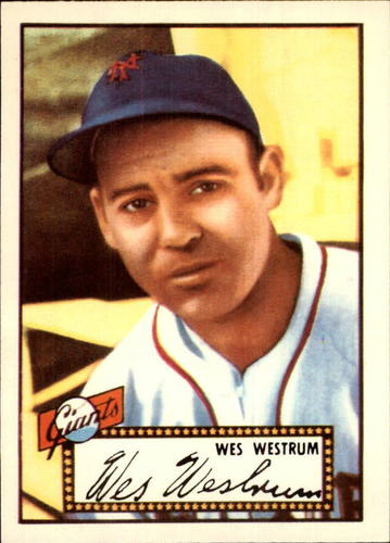 Photo of 1983 Topps 1952 Reprint #75 Wes Westrum