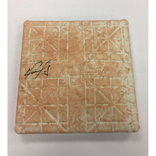 Photo of David Ortiz Autographed, Game-Used June 25, 2015 2nd Base