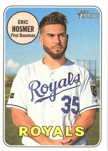 Photo of 2018 Topps Heritage #71 Eric Hosmer