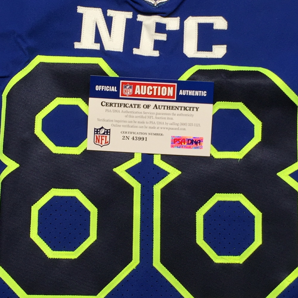 NFL Auction | NFL - COWBOYS DEZ BRYANT GAME ISSUED 2017 NFC
