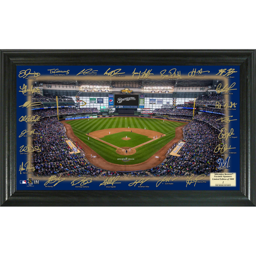 Photo of Milwaukee Brewers 2018 Signature Field