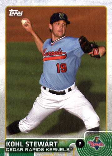 Photo of 2015 Topps Pro Debut #41 Kohl Stewart