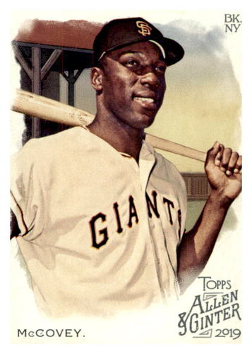 Photo of 2019 Topps Allen and Ginter #53 Willie McCovey