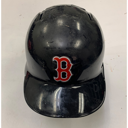 Photo of Andrew Benintendi August 21, 2019 Team Issued Batting Helmet