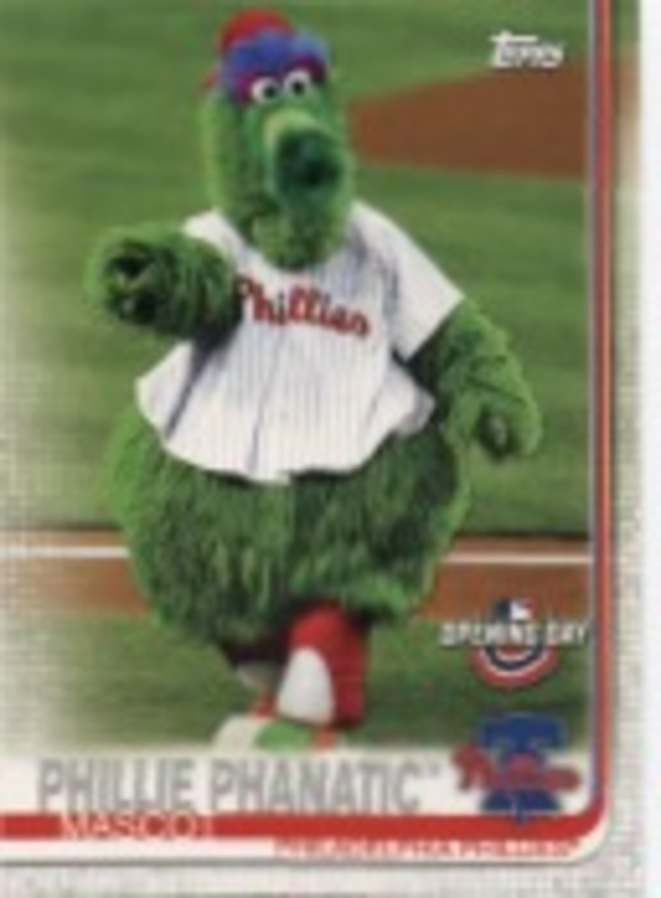 2019 Topps Opening Day Mascots #M21 Phillie Phanatic