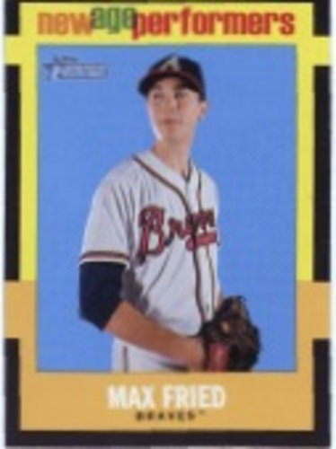 Photo of 2020 Topps Heritage New Age Performers #NAP23 Max Fried