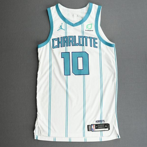 Image of Caleb Martin - Charlotte Hornets - Kia NBA Tip-Off 2020 - Game-Worn Association Edition Jersey - Dressed, Did Not Play (DNP)