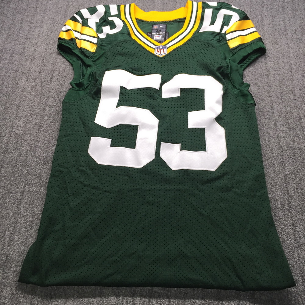 NFL Auction | Crucial Catch - Packers Nick Perry Game Issued ...