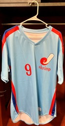 Photo of Jacksonville Expos Fauxback Jersey #9 Size 46