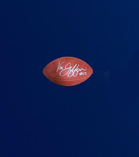 "Photo of Van Jefferson Signed Authentic ""The Duke"" Football"