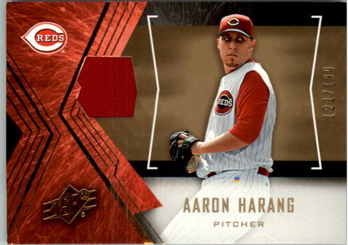Photo of 2005 SPx Jersey #1 Aaron Harang