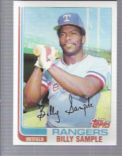 Photo of 1982 Topps #112 Billy Sample