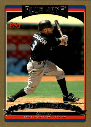 Photo of 2006 Topps Gold #42 Reed Johnson