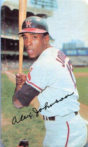 Photo of 1971 Topps Super #8 Alex Johnson