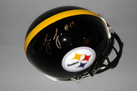 NFL - STEELERS JUJU SMITH-SCHUSTER SIGNED STEELERS PROLINE HELMET