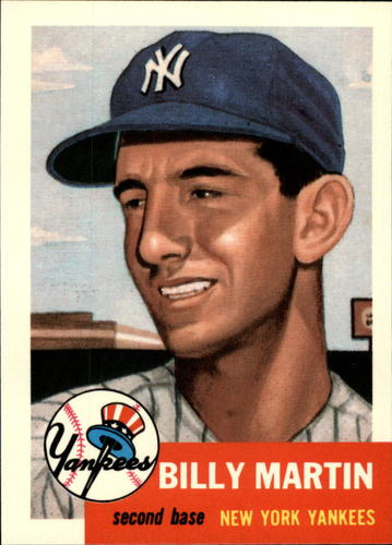 Photo of 1991 Topps Archives 1953 #86 Billy Martin