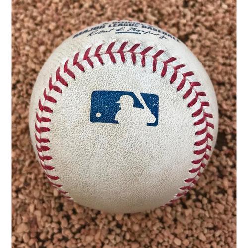 Photo of 2017 Myers vs. Gray -Single - Game-Used Baseball