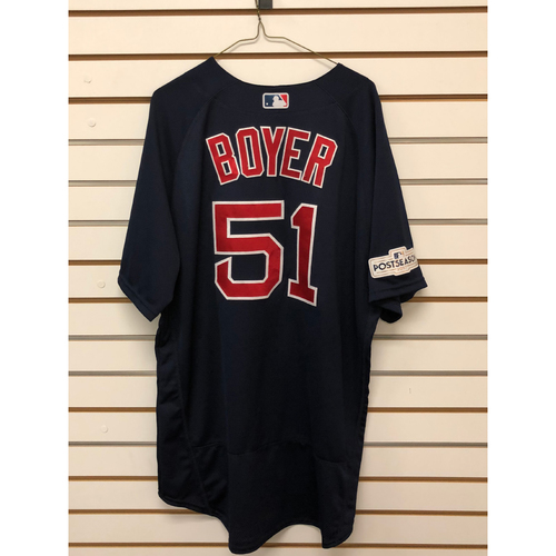 Photo of Blaine Boyer Team-Issued Road Alternate Jersey