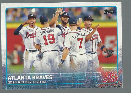 Photo of 2015 Topps #64 Atlanta Braves