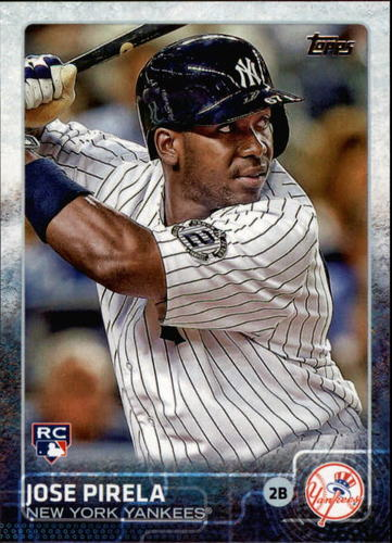 Photo of 2015 Topps #594 Jose Pirela RC