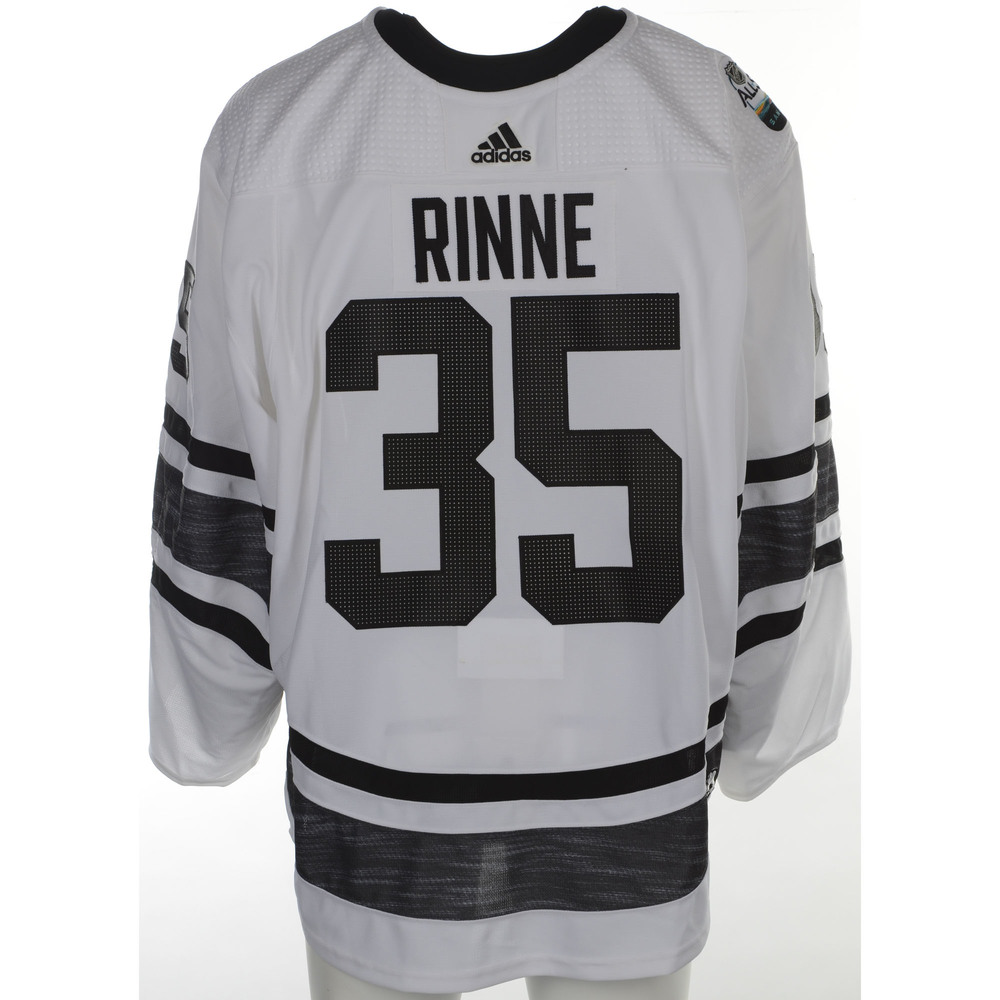 sale retailer a0b4b 4d60a Pekka Rinne Nashville Predators Game-Used 2019 All-Star Game ...