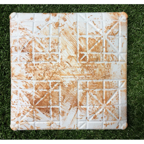 Photo of Game Used 2019 Opening Day Base: Tampa Bay Rays v Houston Astros - Austin Meadows (HR) & George Springer (3-R HR) - 2nd Base, Innings 1-3
