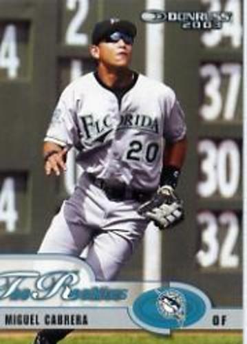Photo of 2003 Donruss Rookies #7 Miguel Cabrera