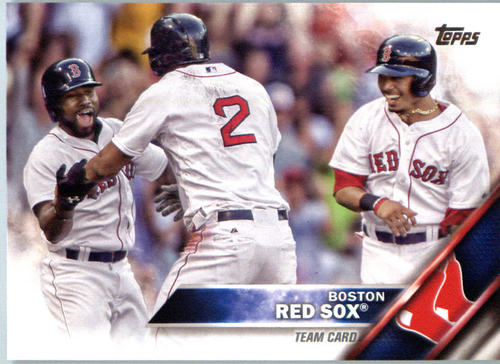 Photo of 2016 Topps #463 Boston Red Sox