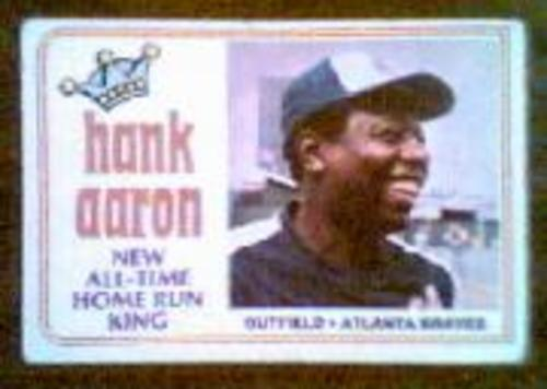 Photo of 1974 Aaron 715 Homer #1 Hank Aaron/715