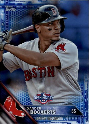 Photo of 2016 Topps Opening Day Blue Foil #OD77 Xander Bogaerts