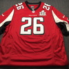 Falcons - Tevin Coleman Signed Replica Jersey Size XL W/ SB 51 Patch