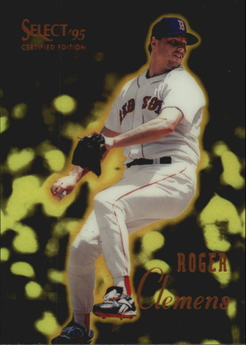 Photo of 1995 Select Certified #88 Roger Clemens