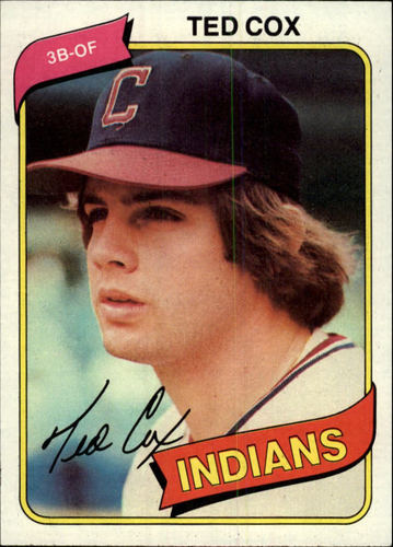 Photo of 1980 Topps #252 Ted Cox