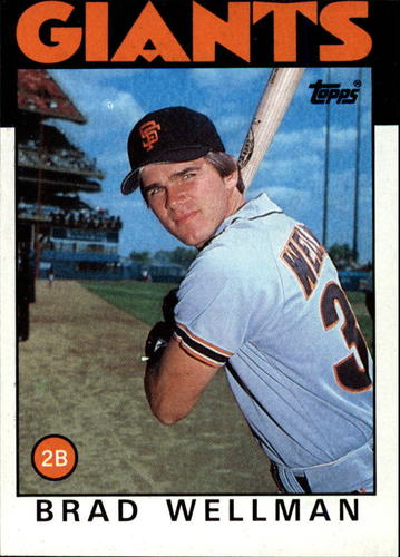 Photo of 1986 Topps #41 Brad Wellman