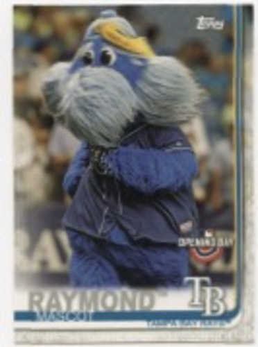 Photo of 2019 Topps Opening Day Mascots #M23 Raymond