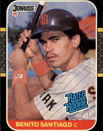 Photo of 1987 Donruss #31 Benito Santiago