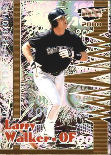 Photo of 2000 Revolution #53 Larry Walker