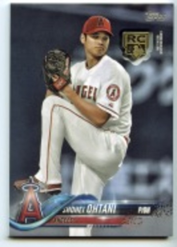 Photo of 2020 Topps Rookie Card Retrospective RC Logo Medallions #RCRSO Shohei Ohtani