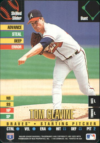 Photo of 1995 Donruss Top of the Order #183 Tom Glavine U
