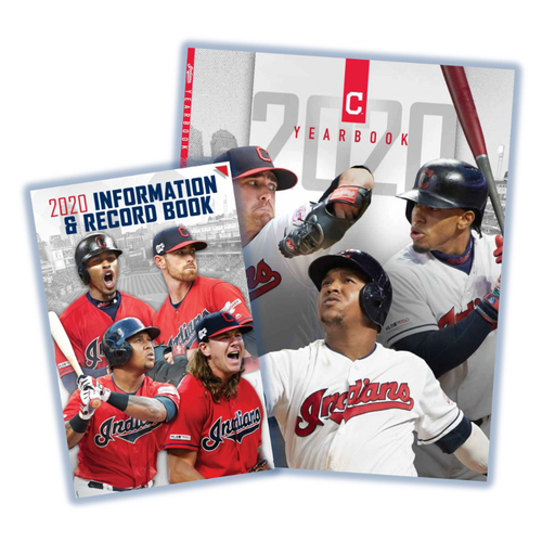 Photo of Cleveland Indians 2020 Yearbook & Info/Record Book Bundle