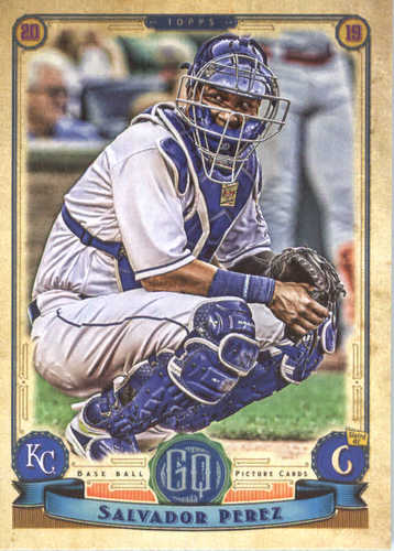Photo of 2019 Topps Gypsy Queen #110 Salvador Perez