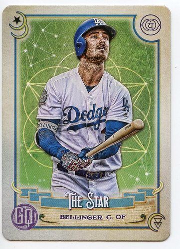 Photo of 2020 Topps Gypsy Queen Tarot of the Diamond #TOD22 Cody Bellinger