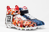 My Cause My Cleats - Buccaneers Tom Brady custom cleats - supporting Player's Coalition, All In Challenge, The TB12 Foundation, Navy Seal Foundation