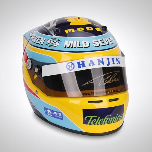 Photo of Fernando Alonso 2006 Signed Replica Helmet